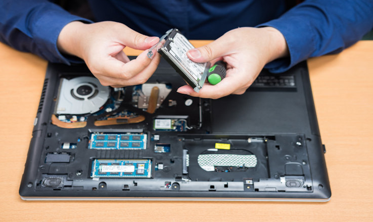 reparar disco duro laptop